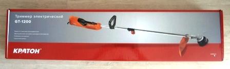Купить триммер электрический Кратон GT-1200 - цена с доставкой по России
